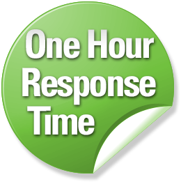 One Hour Response Time